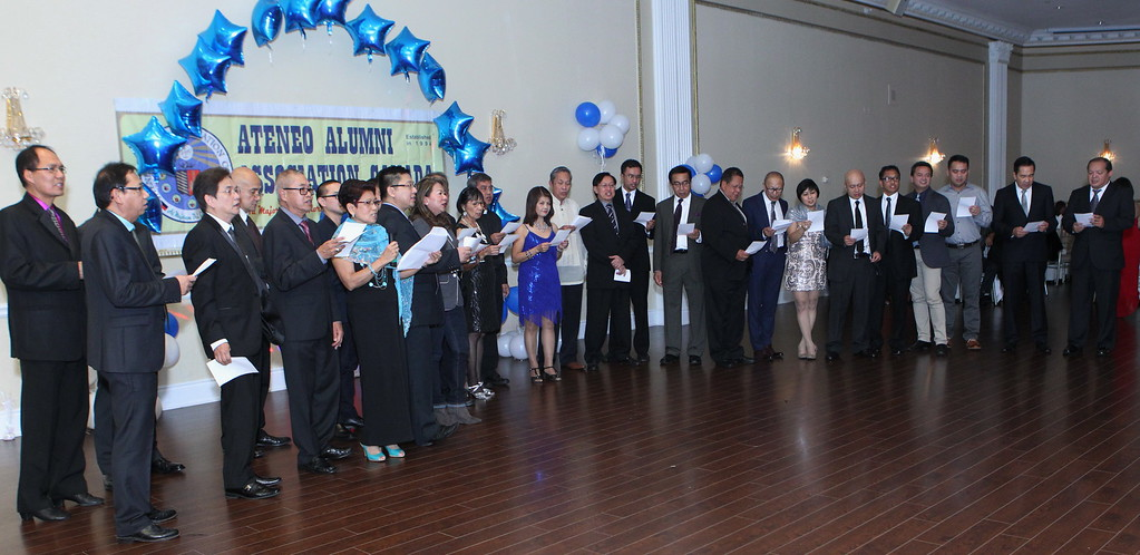 Ateneo Alumni 20th Anniversary Scholarship Fund Raising Dinner Dance 2015